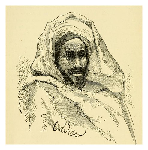 056-Nativo de Beni-Hassan-Morocco its people and places-Edmondo De Amicis 1882