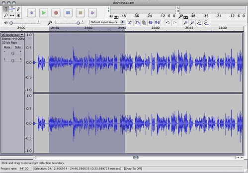 My favourite tools - Audacity by  you.