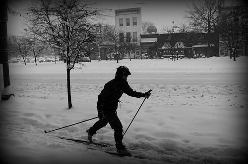 Urban X-C Skiier