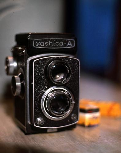 Yashica-A 120 Film Camera