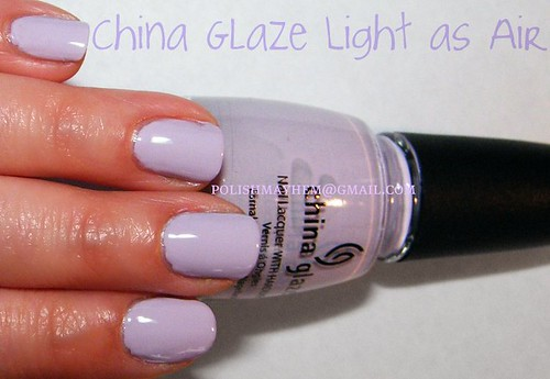 China Glaze Light as Air