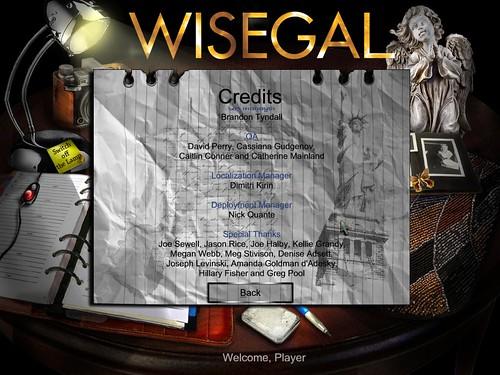 wisegal credits