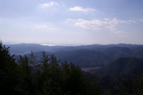 常山からの眺め