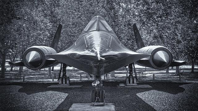 SR-71 Blackbird - Castle Air Museum, California