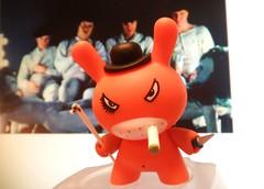 A Clockwork Kozik 013 (danimaniacs) Tags: toy vinyl kidrobot plastic dunny 2007 aclockworkorange frankkozik series4