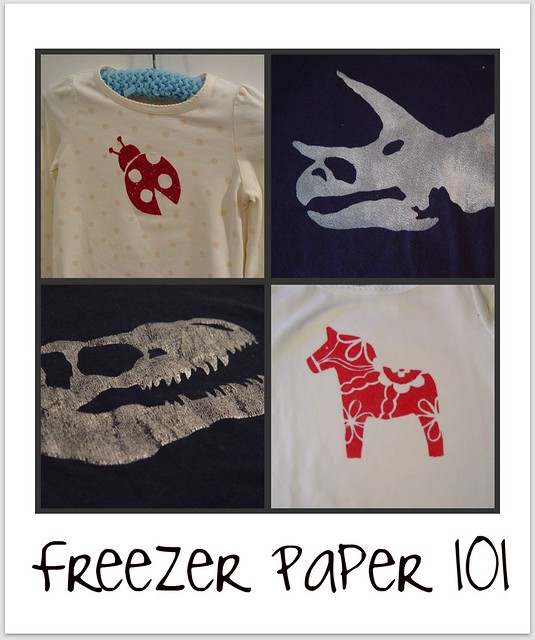 Freezer paper 101