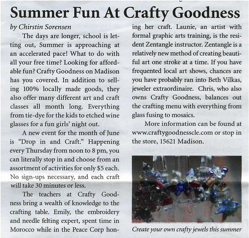 crafty goodness artical