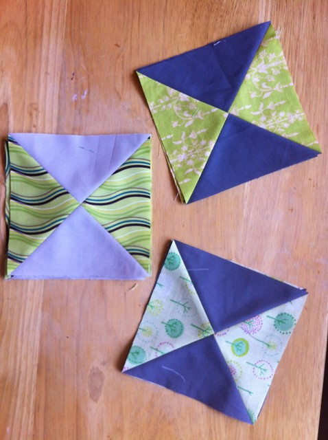 Hourglass blocks for do. Good Stitches