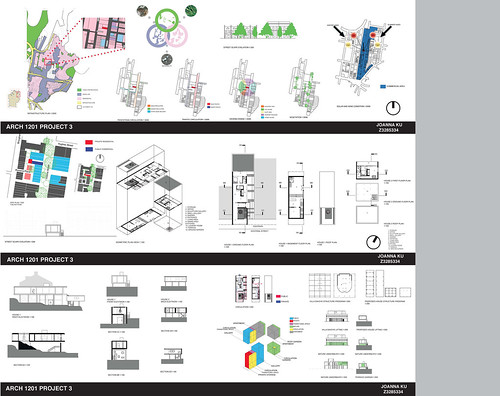arch.design: project 3: final drawing-presentation layout, Powerpoint templates