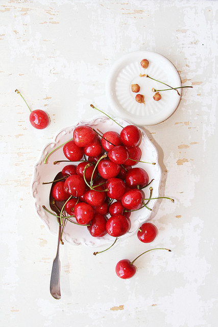 6 Tastyfoodandphotography-Sweet Cherries Ingred