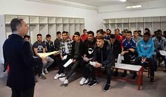 Formació sobre compliance als futbolistes grana