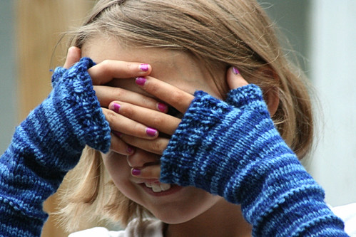 Vallieskids: Stripe it up Fingerless Gloves