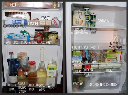wordless wednesday - my fridge