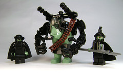 Meet the family (DARKspawn) Tags: lego space troll enhanced cyber robo classicspace spacetrolls