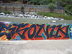 Sonik (white people) Tags: graffiti marin um sonik libk