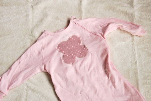 jersey applique on pjs