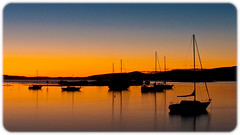 2004-07 105.jpg (Firsty (Keith)) Tags: sunset orange classic water port reflections boats still australia calm nsw gradient serene greatphotographers portstevens mcgoffs bestofaustralia