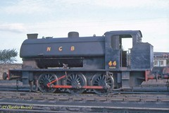 RSH7104 NCB Ashington 44 26 Sept 1964 (pondhopper1) Tags: industrial steam kodachrome railways ncb uksteam 060st