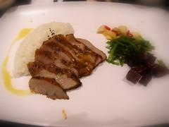 香蒜松阪豬飯