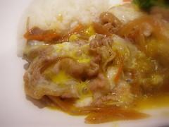 牛肉壽喜燒飯