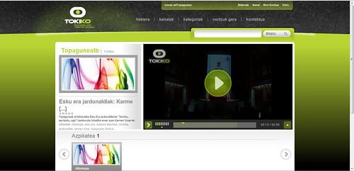 tokiko.tv web argazkia