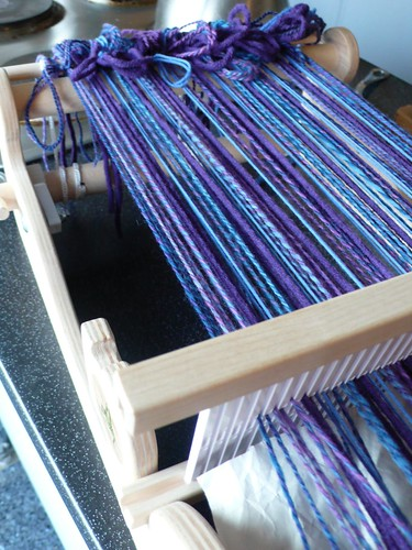 New scarf project on my Cricket loom