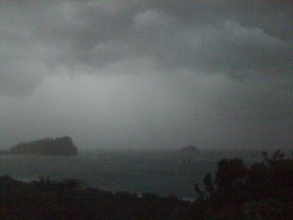 Storm in Manuel Antonio