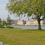 Bordeaux: La façade classique, vue depuis la rive droite