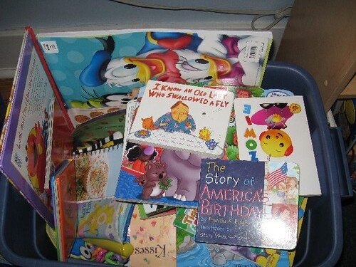 Mostly board books