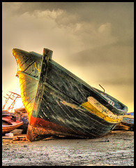 Retired Boat ! (Bashar Shglila) Tags: world africa old sea italy boats photography boat gallery photos top african eu malta best most worlds illegal popular retired 27 libya immigration hdr lybia libia libye libyen photomatix  lbia  libi almaya   libiya  colorphotoaward liviya  libija       lbija  lby libja lbya liiba livi  ibia