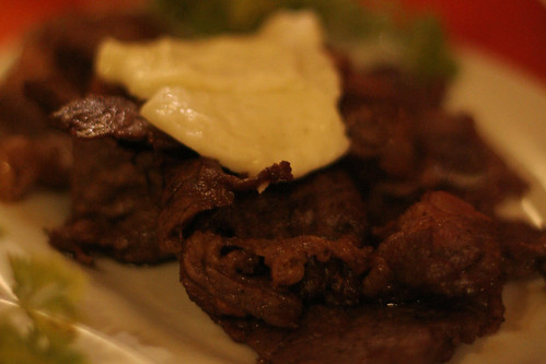 Sirloin Tapa with Kesong Puti at Penpen