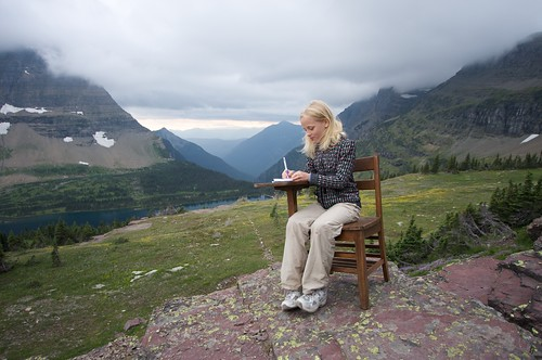 The Outdoor Classroom!! -- Glacier National Park