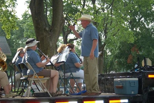 Manchester Civic Band at Fun Fest Parade 2009