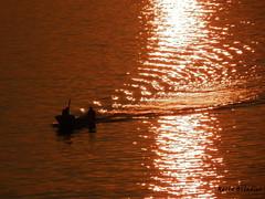 Meccanica ondulatoria (Marioleona) Tags: sunset reflections tramonto croatia mario riflessi croazia golfo dalmatia makarska igrane dalmazia mariobrindisi