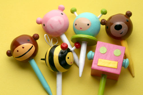 Cupcake Toppers from Lollipop Workshop