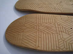 Decked15 (Thomas Forsyth) Tags: wood geometric design woodwork graphic skateboarding geometry board carving carve deck skate skateboard thomasforsyth owengildersleeve thedeckedproject