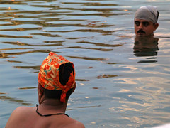 by the Golden Temple in Amritsar (nipitiri123) Tags: india water pool sikh amritsar goldentemple