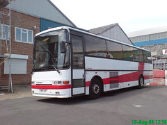 Old Westbus Coaches - Jonckheere Deauville - Original Euro (leszee) Tags: old uk travel original bus london volvo coach euro stanley coaches jonckheere hanwell deauville trumpersway vdl b10m westbus volvob10m jonckheeredeauville watersidetradingcentre stanleytravel