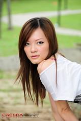 Introducing Mack (Caesda) Tags: blue sexy hair model eyes bend shoulder mack 1u d300