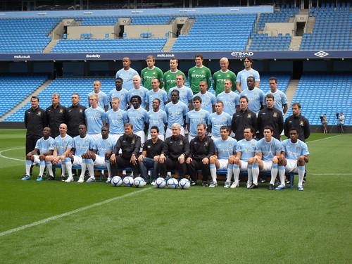 Manchester City Team Lineup