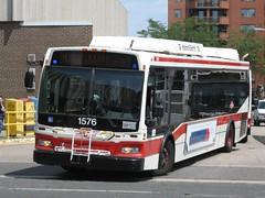 TTC 1576 (F. Poon) Tags: new toronto ontario canada bus ttc transit orion hybrid vii orionvii