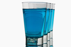 blue water (Luis Eduardo ) Tags: blue cold water glass crystal drink liquid hikey refresh luismosquera