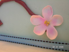 Fondant Apple Blossom