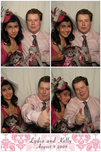 Lydia and me in the photobooth