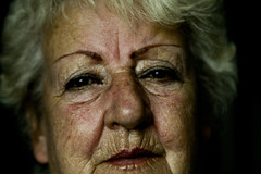 Nan (CHAZ+) Tags: old grandma make up field dof skin grandmother age gran shallow nan wrinkles depth