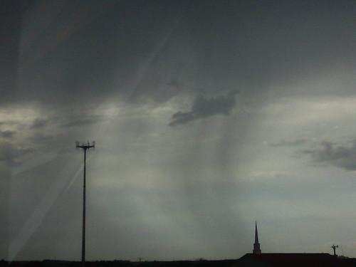 side swept rain