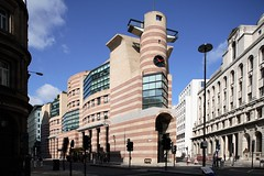 No. 1 Poultry (stevecadman) Tags: london architecture 1980s offices thecityoflondon postmodernist jamesstirling