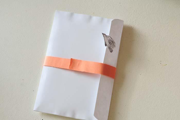 birdhouse pop-up card