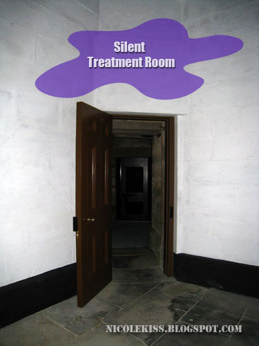 silent treatment room