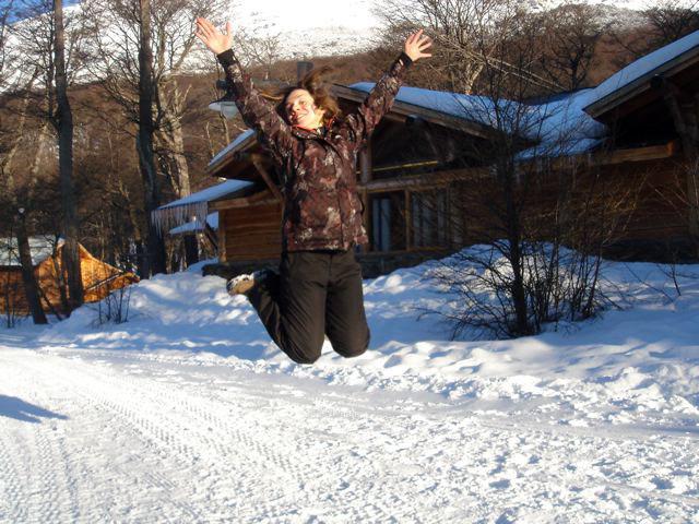 Jumpity jump in Cerro Castor